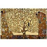 Lámina giclée de primera calidad 'El árbol de la vida', de Gustav Klimt, Tamaño: 81 x 61 cm