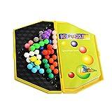 Pyramide Perlen Kugel Puzzle Spiel für Kinder Spielzeug Trop Spielerei Rechtschreibung Fach