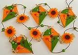 Dekorative Drachengirlande 140 cm Länge Drachen 9 cm TOP / zum Verarbeiten Herbstdeko