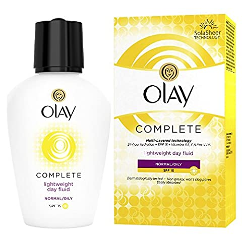 Olay Complete Lightweight 3in1 Moisturiser Day Fluid SPF15 normal/oily 200