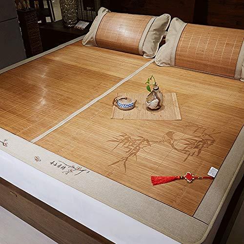DUAN GUO FENG DGF Sommer Schlafmatte Faltbare Familie Schlafzimmer Studentenwohnheim Schlafmatte (größe : 1.5m×1.95m)