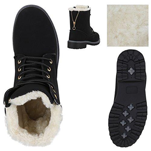 Worker Boots Unisex Damen Herren Outdoor Stiefeletten Zipper Warm Gefüttert Schwarz Weiß