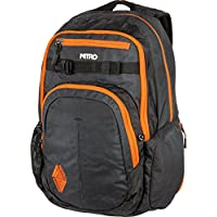 Nitro Chase Rucksack, Schulrucksack mit Organizer, Schoolbag, Daypack mit 17 Zoll Laptopfach