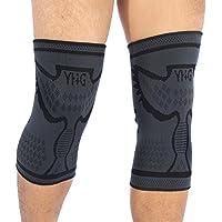 Doact Sport Kniebandage Kniestütze(1 Paar) Knieschoner ideal für Bänderverletzungen oder Zerrungen order für Sportverletzung... preisvergleich bei billige-tabletten.eu