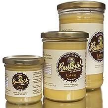 100% Bio Ayurveda Ghee   Butterschmalz   Butteröl. Ein altbewährtes Lebenselixier zur vielseitigen Verwendung für Küche und Kosmetik im Glas, Premium Qualität (120 g) (120 g)