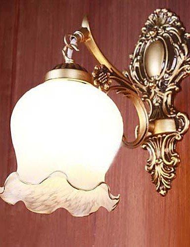 ZQ Badezimmer-Wandleuchte, 1 Light, Classic, Metall, Glas-Malerei , 220-240v
