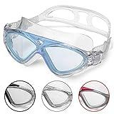 Occhiali Da Nuoto Per Adulto Anti Nebbia Nessuna Fuoriuscita Visione Chiara UV Protezione Facile da Regolare Professionale + Comodo per Uomo e Donna da Winline