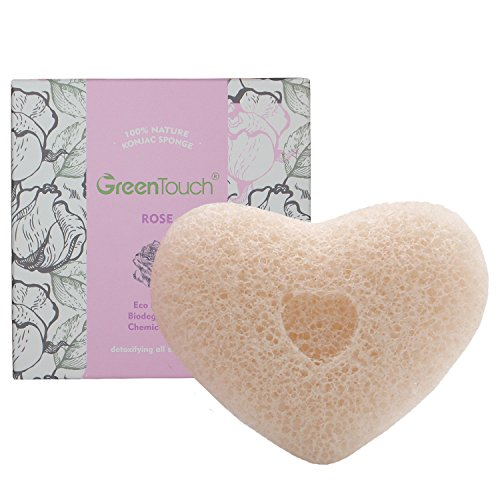 greentouch-all-natural-konjac-facial-sponge-with-rose-essence-remove-the-oily-exfoliating-heart-shap