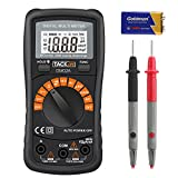 Tacklife DM02A Klassisches Digital Multimeter Auto Range Multi Tester mit Non Contact Voltage zum Messen von...