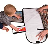 Baby Diaper Portable Changing Mat With Multiple Storage Components - LovedBimbi Changing Pad Kit For Home And Travel - Great Baby Shower Gift