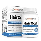 #1 Hair Loss Supplement and DHT Blocker - Natural 3-in-1 Vitamin and Herbal