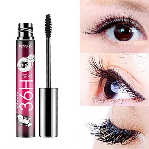 1PC 4D Silk Fiber Lash Mascara Lengthening und dicke Wimpern Mascara langlebiges Wasserdichtes & Verschmieren-proof Wimpern Applicator für den ganzen Tag Exquisit -
