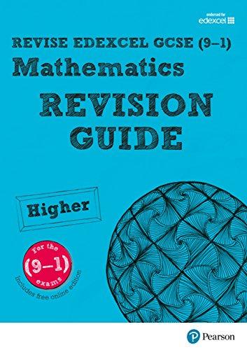 REVISE Edexcel GCSE (9-1) Mathematics Higher Revision Guide (with ...