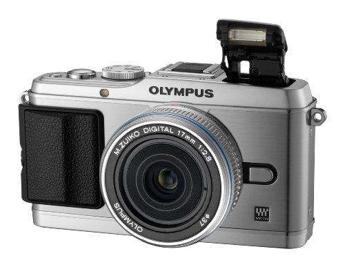 "Olympus PEN E-P3 + M.ZUIKO 17mm MILC 12.3MP 4/3"" Live MOS 4032 x 3024Pixel Argento"