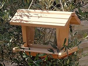 vogelfutterhaus btv vofu2g natur002 premium vogelhaus mit. Black Bedroom Furniture Sets. Home Design Ideas