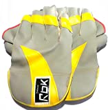 #10: Wicket Keeping Gloves. Leather Gloves for Cricket, Color As per Availability,Size- 28/ 20 cm