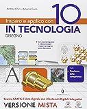 Imparo e applico con 10 in tecnologia. Disegno-48 tavole. Per la Scuola media. Con e-book. Con espansione online: 2