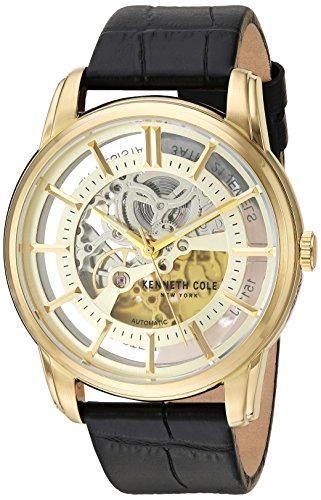 kenneth-cole-new-york-reloj-de-hombre-reloj-de-pulsera-piel-kc15116002-automatico