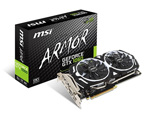 MSI GeForce GTX 1060 ARMOR 3G OCV1 NVIDIA- Placa grafica NVIDIA GeForce...
