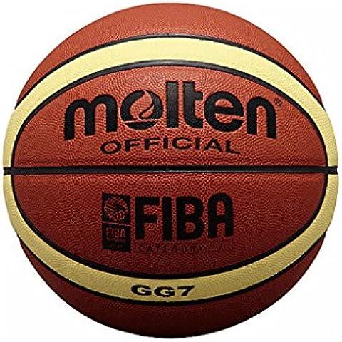 Molten BGG7 - Balón de baloncesto, color naranja, tamaño 7