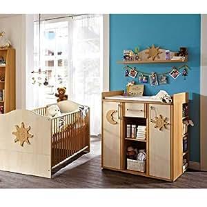 germania 0882 24 wickelkommode 0882 buche nb birke nb k che haushalt. Black Bedroom Furniture Sets. Home Design Ideas