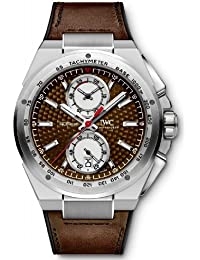 IWC Ingenieur Silver Dial Leather Strap Automatic Mens Chrono Watch IW378505