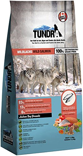 Tundra Hundefutter Wildlachs -...