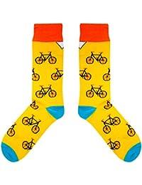 CUP OF SOX Biciclette/Bikes / Hipsters - Calze nei bicchieri di carta - Calze da uomo e donna - Calze da regalo - Calze per il tempo libero