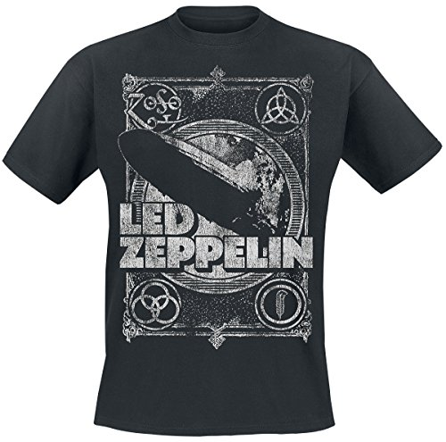 Led Zeppelin Shook Me T-Shirt Black