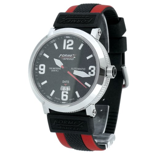 Formex 4 Speed Men's Automatic Watch TS725 7251.7020/RBRD with Rubber Strap