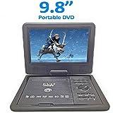 MK 3D 9.8 Inch Portable DVD VCD CD Player MP3 MP4 Color TV USB Memory Card Slot