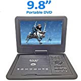 MK 3D 9.8 Inch Portable DVD VCD CD Player MP3 MP4 Color TV