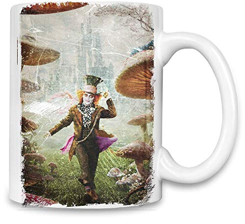 Alice im Wunderland 2 Der verrückte Hutmacher - Alice In Wonderland 2 The Mad Hatter Unique Coffee Mug | 11Oz| High Quality Ceramic Cup| The Best Way To Surprise Everyone On Your Special Day| Custom