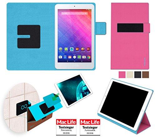 reboon Hülle für Acer Iconia One 8 (B1-830) Tasche Cover Case Bumper | in Pink | Testsieger