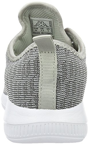 Kappa Unisex-Erwachsene Gizeh Sneaker Grau (1614 Grey/l´grey)