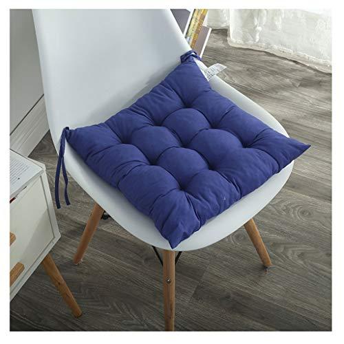 DZWLYX Garden Sitzkissen, Hochwertige Qualitäts-Polsterauflage Für Gartenmöbel, 15.7x15.7 Inch, Eckig (Color : Royal Blue)
