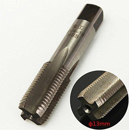 1PC Allgemein 55 Grad HSS Rohr 1/4 Zoll Rohrgewindebohrer 13x63mm