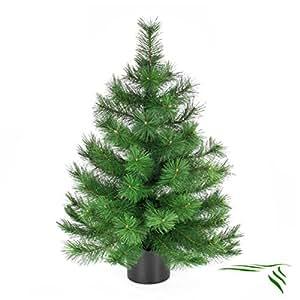 deko tannenb umchen im topf 90cm kunsttanne k nstlicher tannenbaum weihnachtsbaum amazon. Black Bedroom Furniture Sets. Home Design Ideas