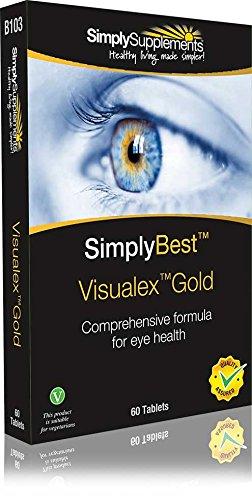 Visualex Gold para la vista - ¡Bote para 2 meses! - Combinación de 17 ingredientes -...
