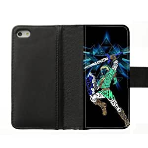 Custom leather case cover the legend of zelda handywelt-niefern coque de protection pour iphone 5, broyer-pS990 et 5s