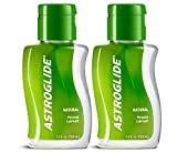 Astroglide Natural Liquid Personal Lubricant Our Natural Formula Is Not Made with Glycerin, Parabens, Fragrances, Flavors or Hormones. : Size 2.5 Oz. (Pack of 2) by Astroglide
