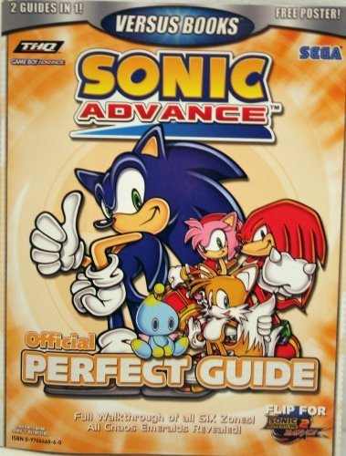 Preisvergleich Produktbild Sonic Advance + Sonic Adventure 2 Battle Official Perfect Guide