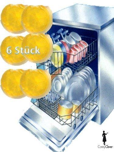 Duftspender, Duft für Spülmaschine, Geschirrspüler, Geschirrspülmaschine 6 St. von Conny Clever®