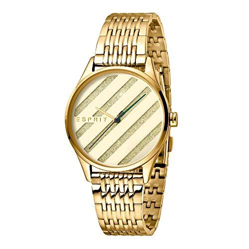 Esprit es1l029m0055E. ASY Champagne MB–Reloj de Pulsera para Mujer