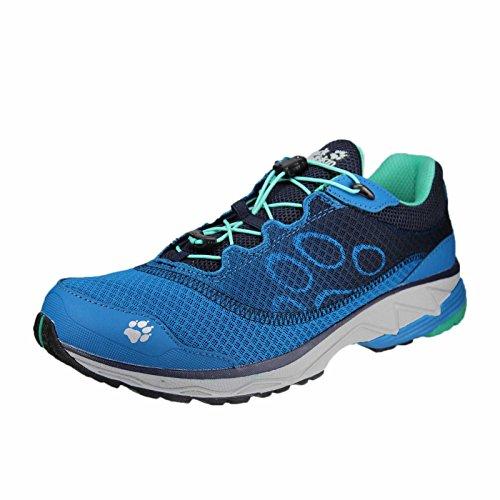 Jack Wolfskin Zenon Track Low M Größe 44 Blau (Mittelblau) (Track-schuhe Herren)