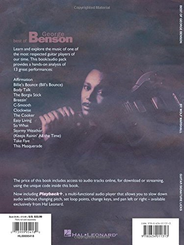 Best of George Benson: A Step-By-Step Breakdown of His Guitar Styles and Techniques (Signature Licks)