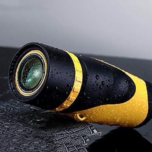 YUN Telescope@ 6x30 Wasserdicht Dual-Fokus-Monokulares Teleskop/Fernrohr für die Jagd, Camping, Überwachung, Model: UW029
