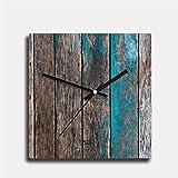Epic Ink Wood Furnished wall clocks