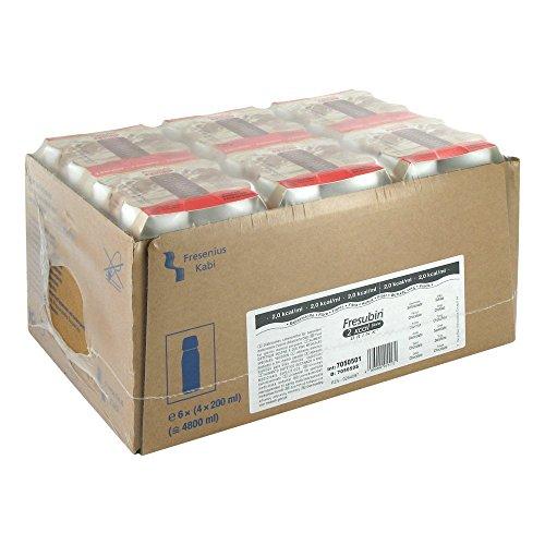 fresubin apotheke Fresenius Kabi Fresubin 2 kcal fibre Drink Schokolade Trinkflasche, 24 x 200 ml, 1er Pack (1 x 5,5 kg)