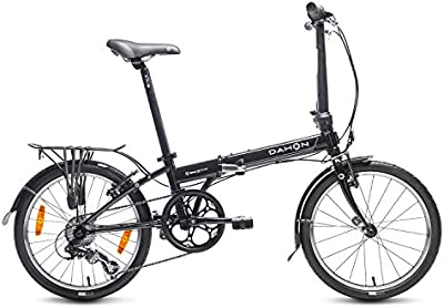 Dahon Speed D7 Bicicleta plegable, Unisex adulto, Negro obsidian, 20